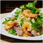 海老と豚肉入り青パパイヤ・サラダ、ベトナム風|ミント買いました