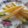残念なオレンジに出会ったら① ~くやしいから皮まで食べちゃう(オレンジピール)レシピ