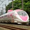 500系新幹線(ハローキティ新幹線)を追って その2