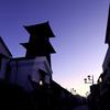 夜明け前の川越「時の鐘」