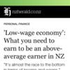 ニュージーランド内、どの地域ならより稼げる?