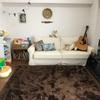 大人のリビングを2歳の子どもの部屋に改造。<途中経過>
