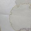 【名古屋帯】雪輪柄に鹿の子の織出しが素敵な名古屋帯