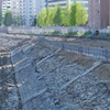 日本初の鉄道の遺跡「高輪築堤」一般見学会(4街区)に行ってきた