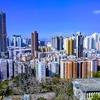 沙田から大美督のサイクリングコース(香港)