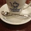 星乃珈琲のモーニング。コーヒーと焼きたてのパンが美味しかったです。