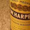 『I.W.ハーパー』国際的な博覧会で受賞した「5つのゴールドメダル」でおなじみの一本。