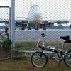 今日は翻訳お手伝い&空港周辺をギコギコ