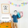【10歳のお誕生日にしたこと】桃のケーキ作り、飾りつけ、お手紙をわたす