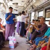 ヤンゴン環状線で熱中症なりかけた話しとこの旅2回目の野原トイレの話