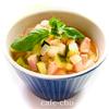 ★野菜を食べるスープ〜生トマトのミネストローネ〜