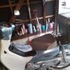 車庫の掃除