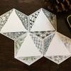 六角形のタイルと合作