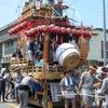 仏像を神社に祀る宇賀弁財天。那古「芝崎」の山車は弁財天をモチーフに作られた統一感のある造り。