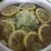 塩豚レモン鍋が神だった。