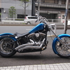 "2005 FXST Wheel Custom Performance Machine Paramount 21""&18"" Wheels Chrome"