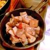 ごろごろ蓮根の塩麹ペペロンチーノ