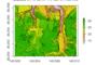 国土地理院の数値標高モデルデータをラスタとしてRで扱う