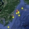 """【地震】6/12日向灘でM2.7の地震~クジラ""""ユメゴンドウ""""漂着の2日後に~後続の地震あるか?"""