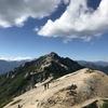 燕岳へ登りました(前半7/15ぶん)。