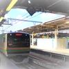 E231系グリーン車でSuicaタッチ(エアー版)^^…最近年・東北本線