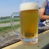 多摩川の河原で昼ビール、そんな夏の一日を