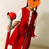 ドラクエにハマる子供へ…ベロニカ衣装の手作りに挑戦!