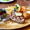 【ファミレス】ロイヤルホスト ~アンガスサーロインステーキ&パンケーキのブランチセット~