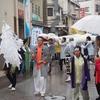 東京都品川区二葉の東京の白蛇さま 上神明天祖神社で例大祭としろへびサミット