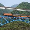 39年ぶりトロッコ列車