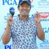 ゴルフ・メジャー2戦目「日本プロゴルフ選手権大会」の武藤俊憲と石川遼!