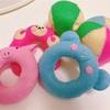 【無料型紙】ドーナッツ型にぎにぎの作り方 手縫い【ベビーグッズハンドメイド】