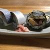 鯖寿司と穴子の太巻き