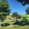 【過去キャンプレポ】沼田町ほたるの里オートキャンプ場とムーンライト7の設営【2016.7】