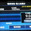 EV日産リーフの燃費を計算してみたら、87km/lと驚異的だった。