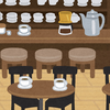 喫茶店+お好み焼き屋=うどん屋