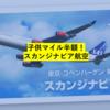 【スカンジナビア・特典航空券3つのメリット】子供のマイル半額はありがたい!