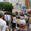 15日、穀田恵二国対委員長が福島市で街頭演説。市民連合から根本仁さんがあいさつ。