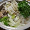 【食事】 今日の晩ごはん 2016/10/06 きりたんぽ鍋