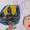 ☆大量に出てきた子供の頃に書いた絵や手紙