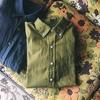 ボタンダウンシャツ製作に苦しむ、厄介だったのはパターンのトレースと折りふせ縫いの仕立て