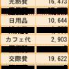 12月の家計簿公開。