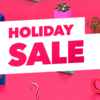 HOLIDAY SALE!  いつの間に…