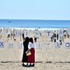 砂浜美術館の、海風と焼けた砂の記憶