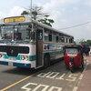 スリランカのバス、鉄道