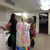 ハワイアンの井戸端会議。