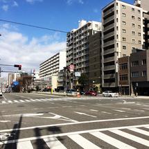 ★谷町7丁目の交差点