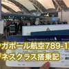 シンガポール航空787-10ビジネスクラス搭乗記〜空港編#エアポート投稿おじさん