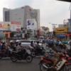 バイクの波〜ホーチミンのあり得ない渋滞、混雑!2016/09