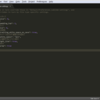 Sublime Text の設定